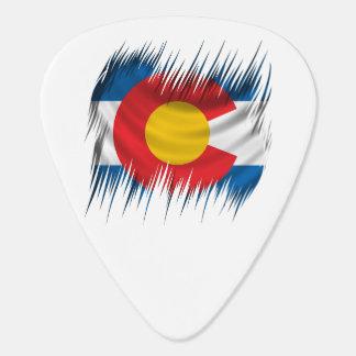 寸断されたコロラド州 ギターピック