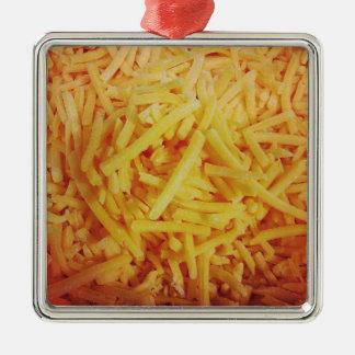 寸断されたチェダー・チーズ メタルオーナメント