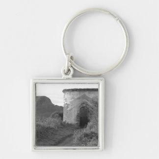 寺男の隠れ穴の眺望タワー。 イギリス キーホルダー