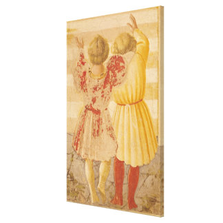 寺院のメリー、1433-34年の提示 キャンバスプリント