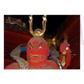寺院の保護者 カード