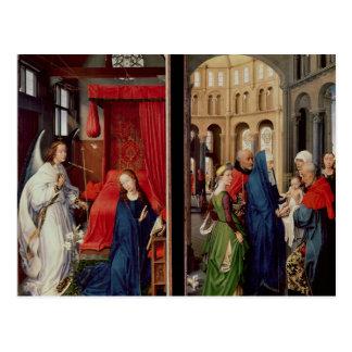 寺院の告知そして提示 ポストカード