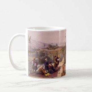 寺院の場所を示すオマールのモスク コーヒーマグカップ