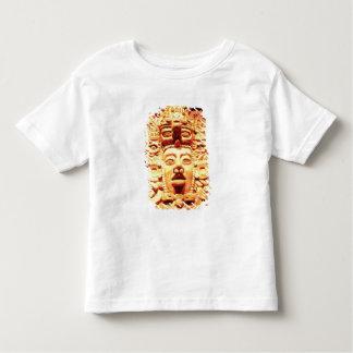 寺院の壁からの詳細との トドラーTシャツ