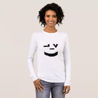 寺院の衣服のスマイリーフェイス Tシャツ
