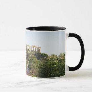 寺院の谷の外 マグカップ
