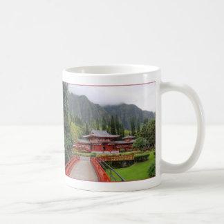 寺院の谷 コーヒーマグカップ