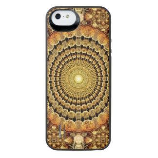 寺院の軽い曼荼羅 iPhone SE/5/5sバッテリーケース