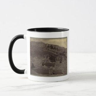 寺院は山腹、1856年頃エジプトに切り分けました マグカップ