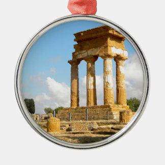 寺院シシリーの谷 メタルオーナメント