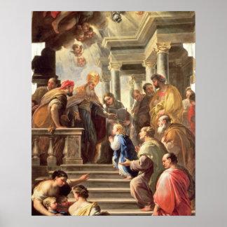寺院(油のヴァージンの提示 ポスター
