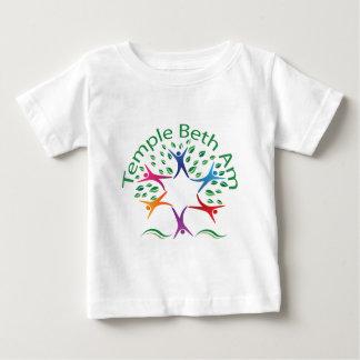 寺院Beth AM ベビーTシャツ