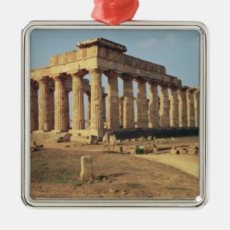 寺院E、紀元前のc.490-480の眺め メタルオーナメント