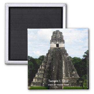 寺院I、Tikal、グアテマラ マグネット