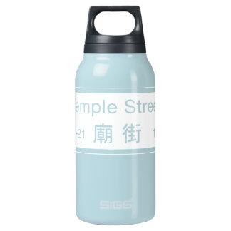 寺院St.の香港の道路標識 断熱ウォーターボトル