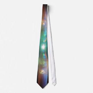 対のジェット機の星雲のネクタイ オリジナルネクタイ