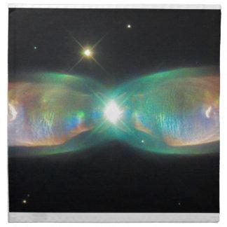 対のジェット機の星雲 ナプキンクロス