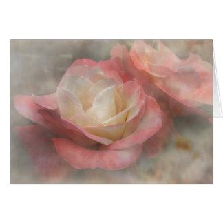 対のバラ カード