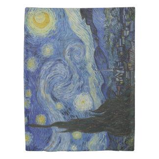 対サイズの星明かりの夜フィンセント・ファン・ゴッホ 掛け布団カバー
