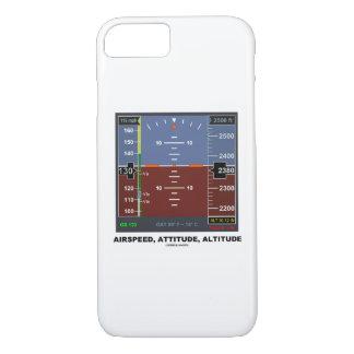 対気速度の態度の高度の電子飛行EFIS iPhone 8/7ケース