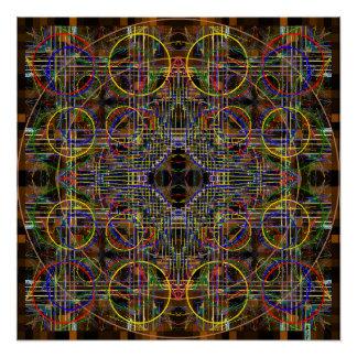 対称シリーズから ポスター