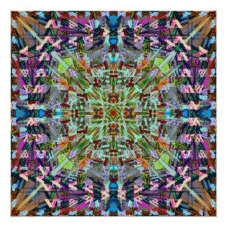対称シリーズから。 ポスター