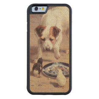 対立 CarvedメープルiPhone 6バンパーケース