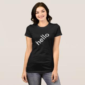 対角線こんにちはレディース上のTookiesTs Tシャツ