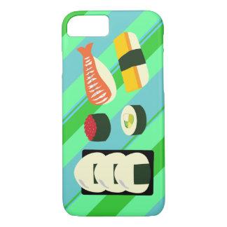 寿司のおもしろいのiPhone 7の場合 iPhone 8/7ケース