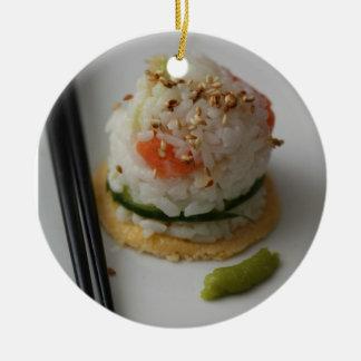 寿司のオーナメント セラミックオーナメント