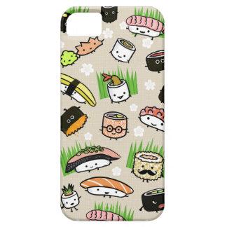 寿司のキャラクターパターン iPhone SE/5/5s ケース
