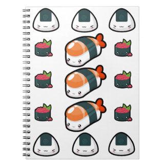 寿司のコンボのノート ノートブック
