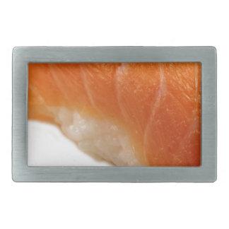 寿司のサケのnigiri 長方形ベルトバックル