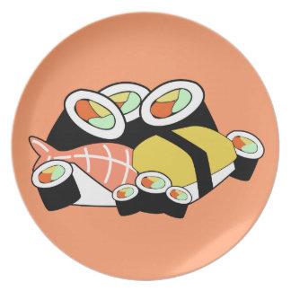 寿司のプレート ディナープレート