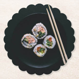 寿司のペーパーコースター ペーパーコースター