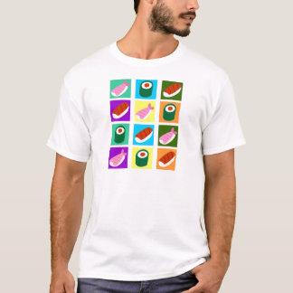 寿司のポップアート Tシャツ