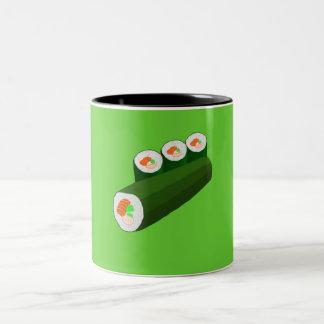 寿司のマグ ツートーンマグカップ