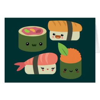 寿司の友人 カード