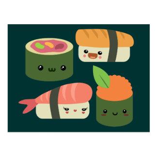 寿司の友人 ポストカード