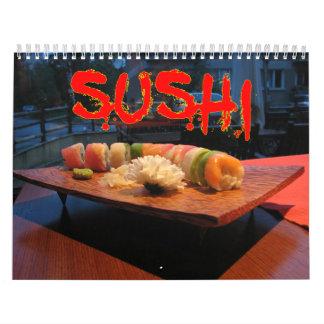 寿司の壁掛けカレンダー カレンダー