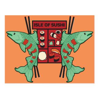 寿司の島 ポストカード