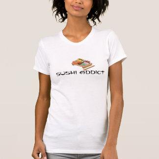 寿司の常習者のワイシャツ Tシャツ