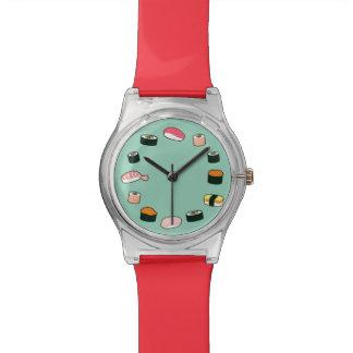 寿司の時間! ファンキー(ミント) 腕時計