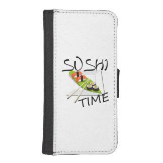 寿司の時間 iPhoneSE/5/5sウォレットケース