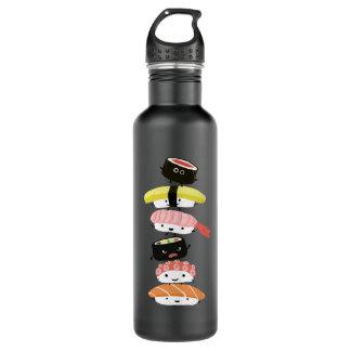 寿司の積み重ね-幸せな寿司の友人のタワー ウォーターボトル