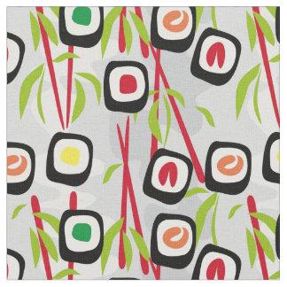 寿司の背景 ファブリック