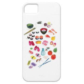 寿司のiphone 5の場合 iPhone SE/5/5s ケース