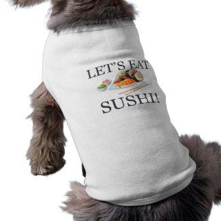 寿司を食べよう ペット服