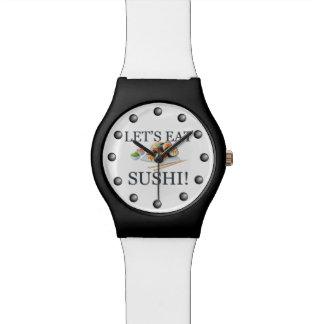 寿司を食べよう 腕時計