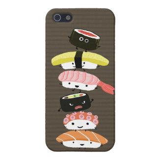 寿司タワー-おもしろいの寿司の友人 iPhone SE/5/5sケース